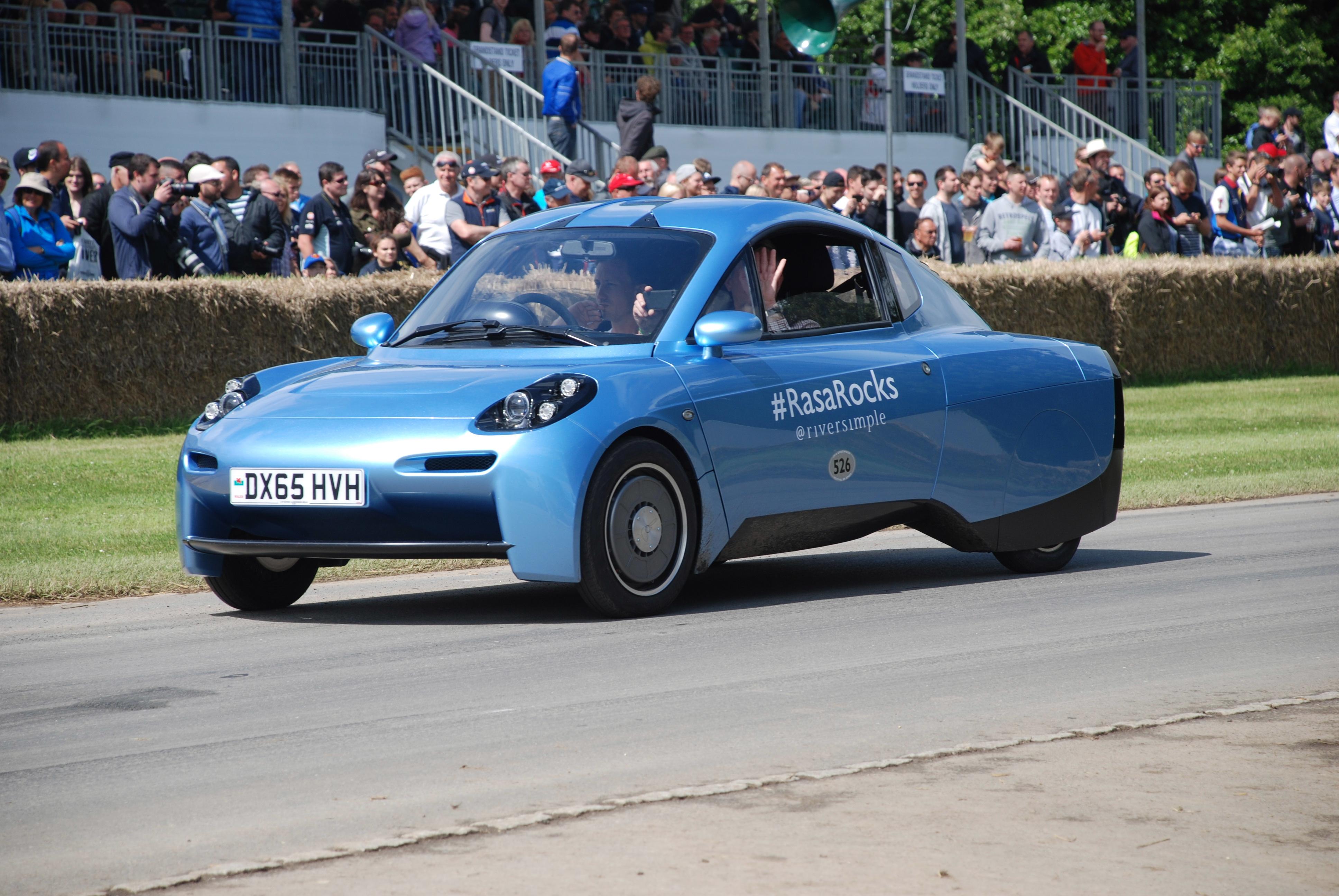 Der Riversimple – Ein Open-Source Wasserstoff-Fahrzeug